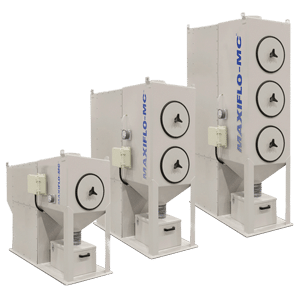 horizontal compact cartridge dust collectors